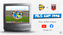 Relive MLS Cup 1996 on its 24th anniversary