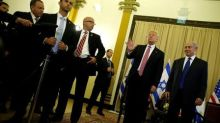 Trump sets out Mideast vision: backing Arab strongmen against Iran