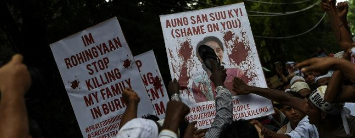 Malaysia hits out at Myanmar over 'ethnic cleansing'
