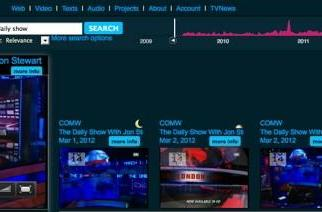 Internet Archive puts all TV news since 2009 online, helps you stay classy