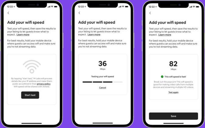 Airbnb WiFi tool