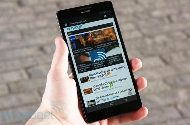 Huawei Ascend Mate review: a supersized phone with supreme battery life