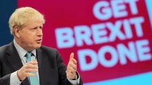 Boris Johnson Brexit speech fails to lift the pound and bleak business mood