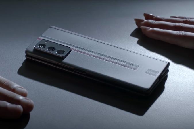 Samsung Galaxy Z Fold 2 Thom Browne edition teaser