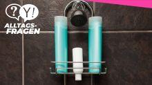 Alltagsfrage: Können Shampoo, Duschgel und Co. schlecht werden?