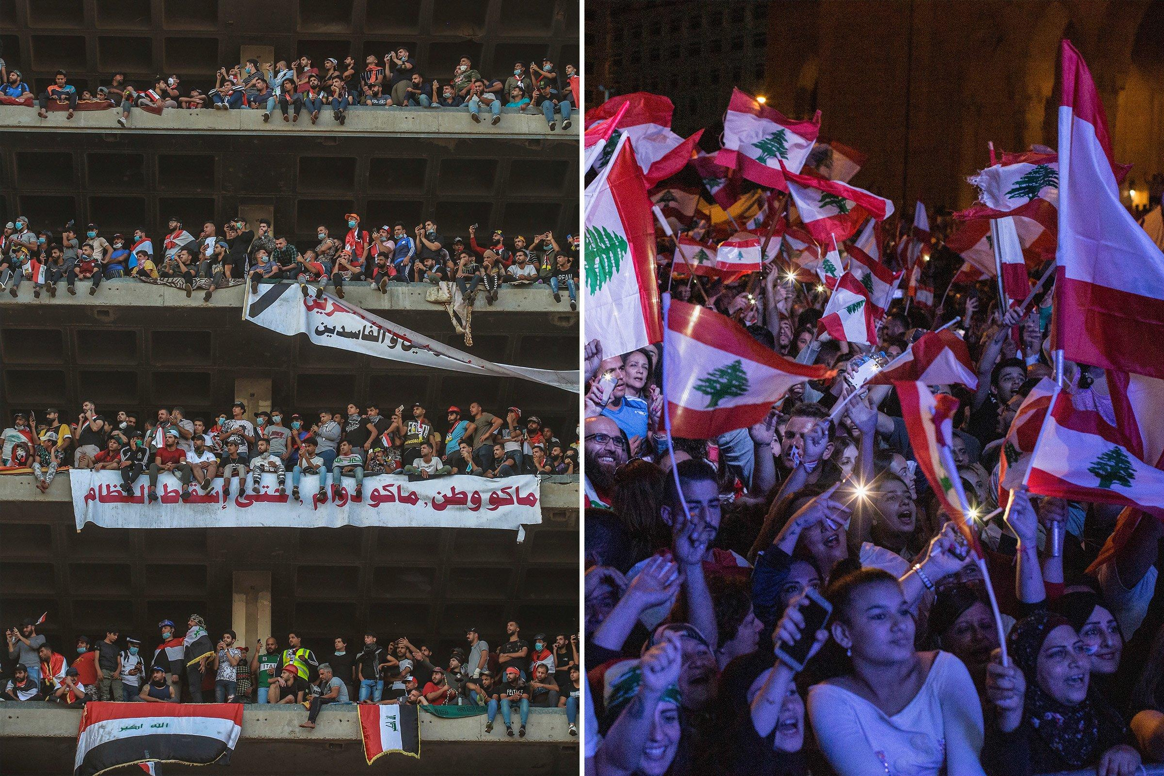A New Arab Spring Is Unfolding in Iraq and Lebanon. But Things Could Get Bloody If Iran Gets Its Way