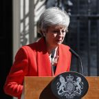 Top minister unveils leadership bid after May's tearful exit