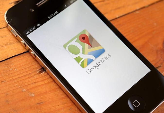 Google Maps on iOS won't blind you at night anymore