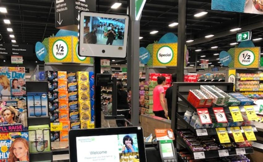 REVEALED: Woolworths deploys HUGE cameras to stop self-checkout thieves