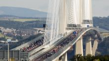 In pictures: Pedestrians take part in 'once in a lifetime' walk across new Queensferry Crossing