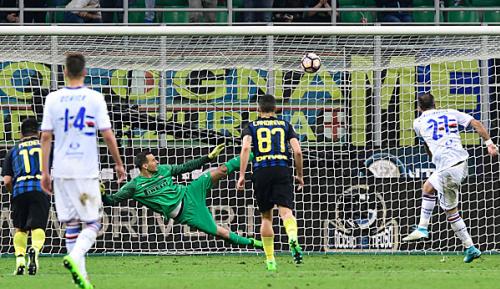 Serie A: 30. Spieltag: Inter patzt gegen Sampdoria