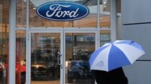 Hard Brexit will cost Ford £615m this year, carmaker warns