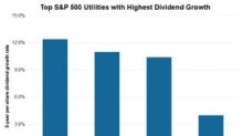 These Three S&P 500 Utilities Have the Highest Dividend Growth