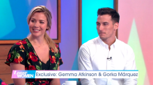 Gorka Marquez almost fainted watching Gemma Atkinson's difficult labour