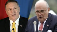 Secretary of State Pompeo appeared to coordinate with Giuliani on Ukraine, new documents show