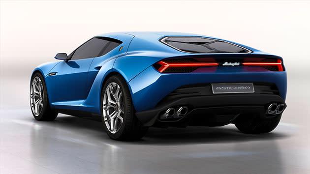 Lamborghini reveals 910-horsepower Asterion hybrid concept