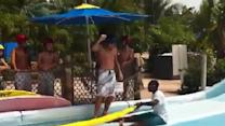 Flowrider Surf Wipe Out