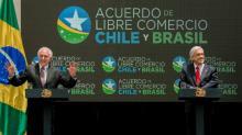 Chile e Brasil assinam acordo de livre-comércio