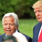 """Donald Trump """"very surprised"""" by Robert Kraft prostitution ring charges"""