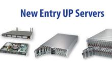 Supermicro Boosts Entry UP Server Line Enabling a Rich Set of New Workloads on Cost-Optimized, Entry-Class Systems