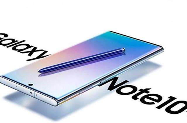 We're live from Samsung's Galaxy Note 10 event in Brooklyn