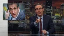 John Oliver has a field day over Michael Cohen's shell consulting company