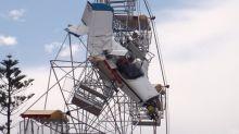 Woman on Ferris wheel when it was hit by plane wins huge payout