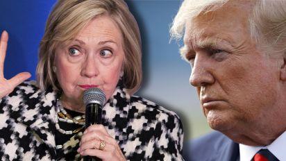 Clinton slams Trump's voter manipulation claim