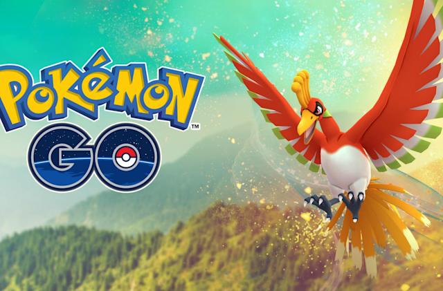 'Pokémon Go' legendary Ho-Oh is catchable for limited time