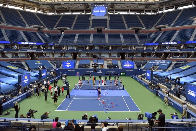 U.S. Open offers glimpse of tennis' future in pandemic era