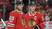 Puck Daddy Notebook: Blackhawks relieved to have Saad back with Toews