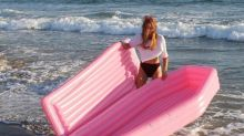 Look at This Millennial Pink Coffin Inflatable!