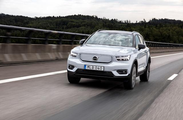 Volvo plans to go fully electric by 2030 and only sell cars online