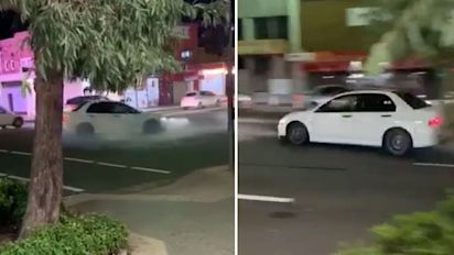 'Hooligan' driver slammed over reckless stunt