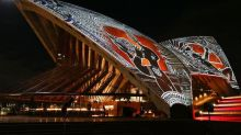 Sydney Opera House lit up with Aboriginal Australian art projection to celebrate world's oldest living culture