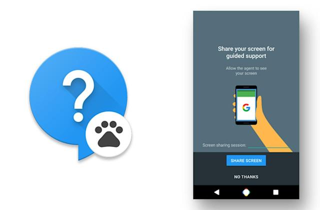 Leaked Google support app shares your Nexus phone's screen
