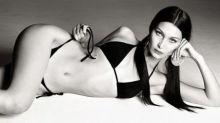 Bella Hadid Is Rightfully Pleased With Her Latest Bikini Shoot