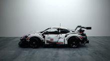 編集部試玩-近賞 LEGO Technic Porsche 911 RSR 積木模型