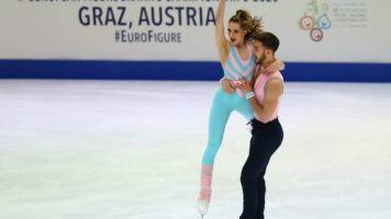 Patinage artistique - Euro - Championnats d'Europe : Gabriella Papadakis et Guillaume Cizeron en tête après la danse rythmique