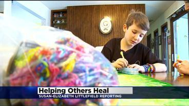 Young Boy With Cancer Creates Bracelets For Charity