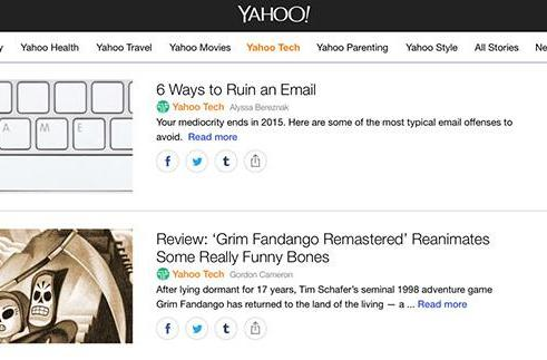 Yahoo updates its news and lifestyle app with more interactive features