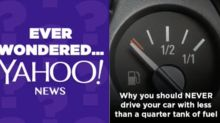 Why you should NEVER drive your car with less than a quarter tank of fuel