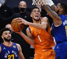 All-Star Booker out against Nuggets with hamstring injury