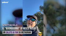 """Il """"Buongiorno"""" di Vasco Rossi"""