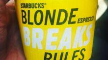 "Starbucks' tone deaf ""blonde"" espresso campaign fits perfectly into Trump's America"