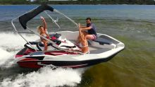 This 2-in-1 jet ski and boat will make you wish you were rich