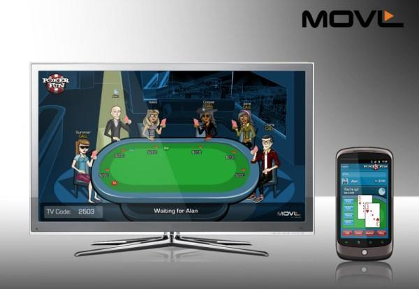 MOVL's PokerFun.tv game shown off on Google TV