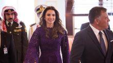 Los looks de la Reina Rania en Abu Dabi