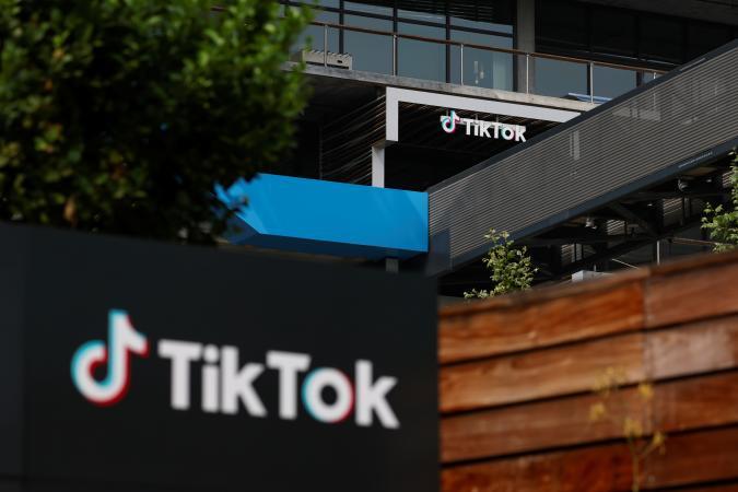 The U.S. head office of TikTok is shown in Culver City, California, U.S., September 15, 2020.   REUTERS/Mike Blake