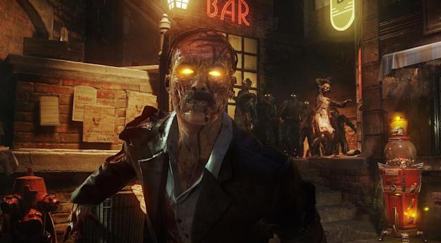 This is the new Zombies mode in 'Call of Duty: Black Ops 3'